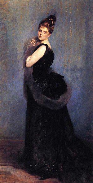Julian Royds Gribble - Mrs George Gribble (Norah Royds), John Singer Sargent, 1888