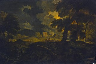 Landscape with Shepherds in a Storm