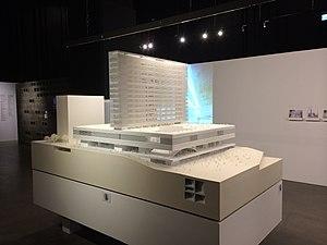 M+ - Model of the building design