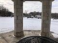 Muskogee snowstorm 2021-02-15 Turner Hill Park gazebo E.jpg