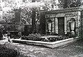 Námestie Štefana Moyzesa (egykor Mátyás tér), katolikus temető. A Hugyecz család sírja, itt van eltemetve Hugyecz László építész is. Fortepan 95444.jpg