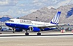 N805UA United Airlines Airbus A319-131 (cn 783) (8096082173).jpg