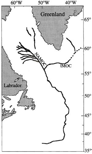 Northwest Atlantic Mid-Ocean Channel - Image: NAMO Cmap