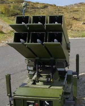 Kongsberg Defence Systems - Image: NASAMS 1, Bodø, 2005