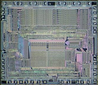 NEC V20 - Image: NEC V30 die