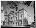 NORTH SIDE, FROM NORTHWEST - U. S. Post Office Building, Broad and Meeting Streets, Charleston, Charleston County, SC HABS SC,10-CHAR,182-8.tif