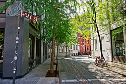 NYC - Greenwich Village - Gay Street.JPG