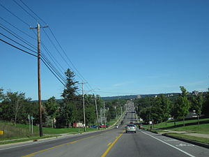 New York State Route 12F - Image: NY 12F in Watertown