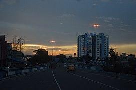 Nabanna - HRBC Building - Vidyasagar Setu Toll Plaza - Howrah 2014-07-11 7378