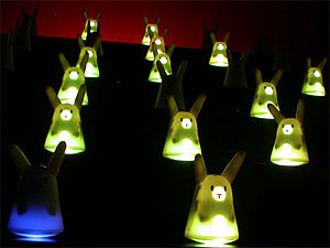 Nabaztag - The 100 Rabbit Opera at the 2006 NextFest in New York