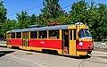 Nagatino-Sadovniki tram on NagatinskayaStreet img1 05-2015.jpg