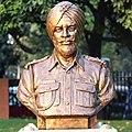 Naib Subedar Bana Singh statue at Param Yodha Sthal Delhi.jpg