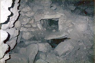 Nakbe - Looted tombs at Nakbe