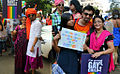 Nakshatra Bagwe and his family at Pune and Mumbai LGBT Pride march.jpg