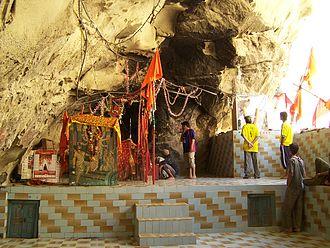 Hinduism in Pakistan - Hinglaj Mata Mandir Cave entrance