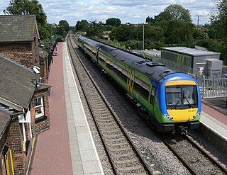 Narborough railway station Railway station in Leicestershire, England