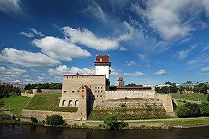 Ida-Viru County - Image: Narva castle 2008