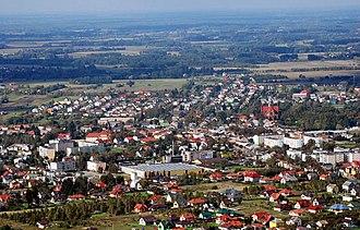 Nasielsk - Skyline of the town