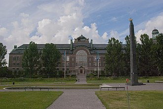 Swedish Museum of Natural History - The Swedish Museum of Natural History Side Entrance