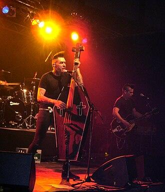 Nekromantix - Nekromantix at the Satanic Stomp in 2008