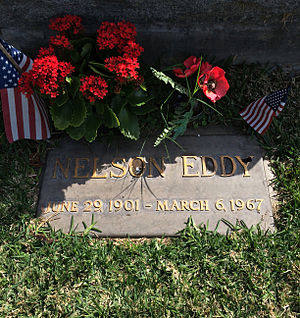 Nelson Eddy - Grave of Nelson Eddy at Hollywood Forever