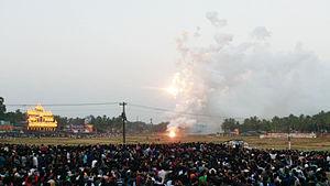 Nenmara Vallanghy Vela - Image: Nenmara vallangi vela