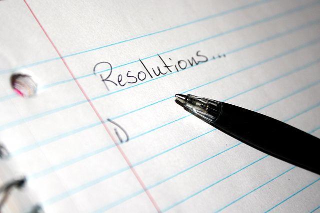 Resolutions...