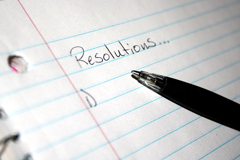 New Year's Resolutions or Goals