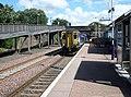 New Cumnock railway station, East Ayrshire, Scotland. View towards Sanquhar.jpg