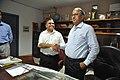 New DG Anil Shrikrishna Manekar Shaking Hands With Retired DG Ganga Singh Rautela - NCSM - Kolkata 2016-02-29 1810.JPG