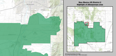 New Mexico's 2nd congressional district - since January 3, 2013.