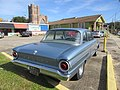New Orleans - Broad at Esplanade Ridge Jan 2019 Ford Falcon parked Rose of Lima Steeple.jpg