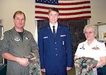 New York CAP members collect donated uniforms.JPG