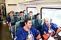 New York Islanders First Ride on LIRR (9730877235).jpg
