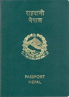 Nepalese passport passport