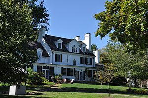 The Governor's Academy - Mansion House, formerly the residence of founding benefactor William Dummer