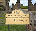 Newby Hall sign - geograph.org.uk - 439742.jpg