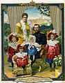 Nicholas II of Russia with family (postcard).jpg
