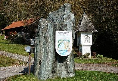 Niederwinklern, Naturdenkmal Bösensteiner Wasserfall, Gemeinde Steuerberg, Kärnten.jpg