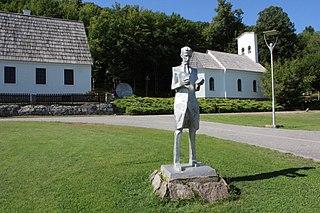 Smiljan Village in Lika-Senj County, Croatia