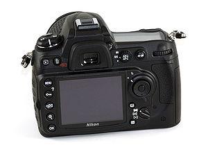 Nikon D300S - Image: Nikon D300s Rear