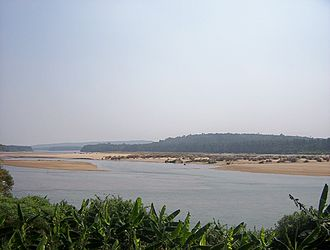 Bharathappuzha - View of the river