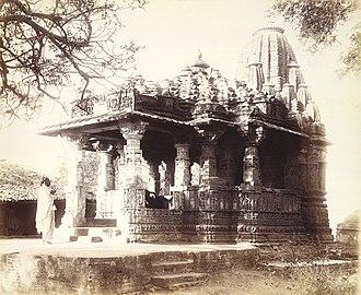 Karna (Chaulukya dynasty) - Image: Nilakantha Mahadeva Hindu Temple, Sunak Gujarat