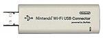 Adattatore USB Wi-Fi, consente al Wii di accedere alla rete. Da installare su un PC collegato ad internet, in caso non si abbia un Router Wi-Fi