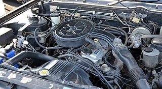 Nissan CA engine Motor vehicle engine