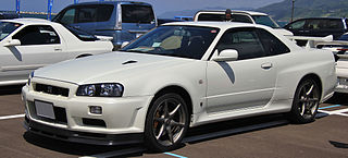 Nissan Skyline GT-R Sports car based on the subsequent generations of the Nissan Skyline produced from 1969–2002