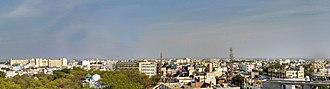 Nizamabad, Telangana - Panorama of Nizamabad overlooking east