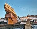 Nizhny Novgorod. Boat Hero and Chkalov Stairs.jpg