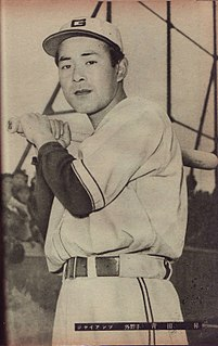 Noboru Aota Japanese baseball player