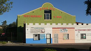 National Register of Historic Places listings in Santa Cruz County, Arizona - Image: Nogales, Arizona Kasa Mia from Grand Ave 2